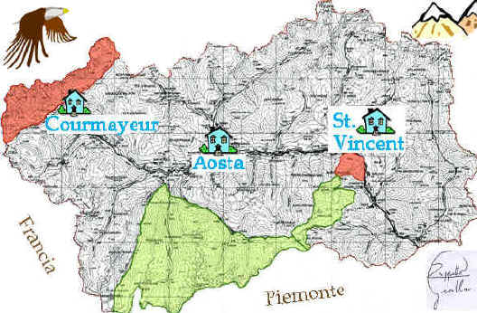 Cartina Fiumi Valle D Aosta.Valle D Aosta Minerali Norme E Iscrizione Per Regolarizzare Le Ricerche