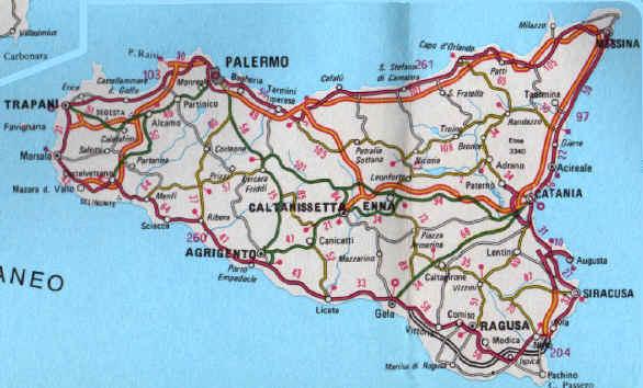 Cartina stradale della sicilia orientale my blog lessons tes teach cartina e mappa della sicilia orientale cartina geografica della regione sicilia carta o mappa della altavistaventures Images
